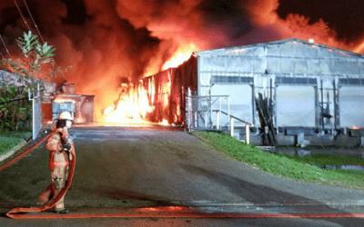 Simulation 3D d'incendie d'alcool : méthode