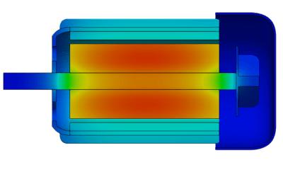 Couplage thermique dans OpenFOAM : application à une machine tournante électrique