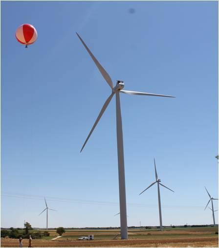 sonometre volant repowering éolien
