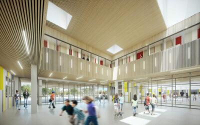 Objectif confort acoustique pour le nouveau collège de Villeparisis